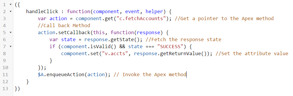 Learn how to call an Apex class from a Lightning component ! – ForceBase